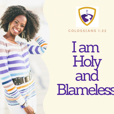 I am Holy and Blameless!